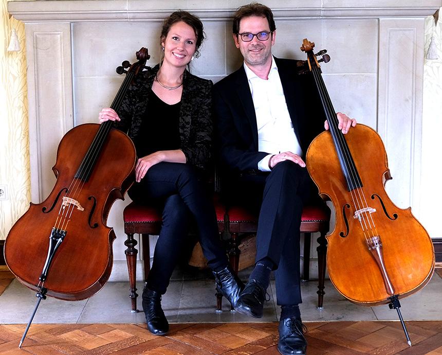 Les Cordes Sympatiques - Cellisten duo